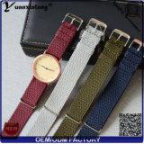 Cinghia di Perlon dell'orologio del cinturino di vigilanza di buona qualità di stile Perlon della fascia promozionale della cinghia di Yxl-031 la nuova progetta all'ingrosso il Wristband per il cliente della vigilanza