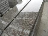 中国の製造者の経済的なG664赤い花こう岩のタイルか平板またはステップまたはカウンタートップ