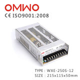Bloc d'alimentation de commutateur de qualité de Wxe-250s-12 DEL