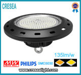 倉庫LED高い湾の照明価格、産業150W LED高い湾ライト