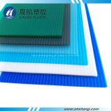 호수 UV 코팅을%s 가진 파란 폴리탄산염 PC 장