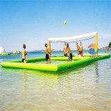 Campo di pallavolo dell'acqua, giocattoli della corte di pallavolo di sport di acqua per la spiaggia