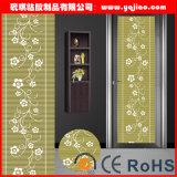 Film décoratif en verre pour le guichet de porte