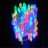 LED de Navidad al por mayor de la bola iluminada luz LED para la fiesta al aire libre / Festival / boda Uso