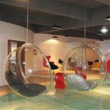 Presidenza d'attaccatura acrilica della bolla con l'ammortizzatore di cuoio dell'unità di elaborazione