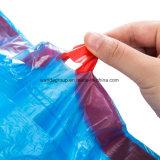 Горячие продавая Biodegradable пластичные мешки погани отброса Drawstring для рынка США