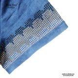 Alineada media lavada ocasional del dril de algodón de las mujeres de Srta. You Ailinna 802122 con el grano