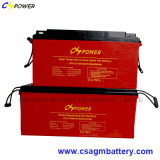 Batteria libera 12V100ah del gel di lunga vita di manutenzione per solare