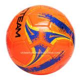 エントリーレベルよいステッチされたオレンジPVC泡のフットボール