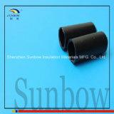 Proteção da Extremidade do cabo retrátil revestida de adesivo da tampa da extremidade