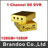 1 Kanal HD 1080P Schreiber des Ableiter-Auto-DVR
