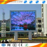 Pantalla LED Pantalla de visualización LED de publicidad al aire libre con diseño creativo