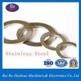 L'acier25201 DIN 304/316 Twin la rondelle de blocage