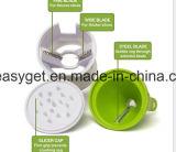 Dispositivo de bolsillo Mini Paquete Spiralizer Verdura Fruta Spiralizer multifunción sacatestigos Herramienta de corte para el Hogar Cocina Esg10171