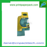 Rectángulo de empaquetado modificado para requisitos particulares del perfume de la ventana del PVC del regalo del papel de arte