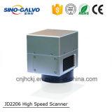 Scanner del galvanometro del laser del CO2 Jd1105/testa di esplorazione per il taglio del laser