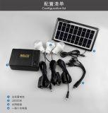 Sistema de energía solar para uso doméstico emergencia
