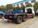 6X4 Dongfeng 260HP 16mtのスキップのローダーのごみ収集車