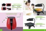 Braadpan van de Lucht van het Kooktoestel van de keuken de Elektrische Digitale (a168-3)