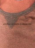 Pullover rotondo comodo normale del collo per gli uomini con Terry all'interno