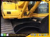 Excavador usado PC220-6, excavador de segunda mano PC220-6 de la correa eslabonada de KOMATSU