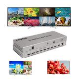 4K Multi-Viewer Quad HDMI 8X1 Affichage de votre commutateur HDMI 8 Signal Vidéo numérique HD sur le même écran