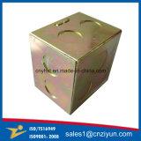 Изготовленный на заказ распределительная коробка оптического волокна металла с желтым цинком