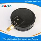 manomètre noir de pression d'épreuve de la poussière d'interpréteur de commandes interactif de 150mm
