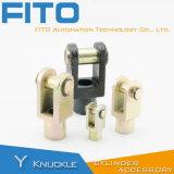 Установки цилиндра воздуха ISO 15552 оборудования точности CNC стандартные