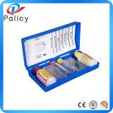 Kit de prueba de agua de piscina, kit de prueba de pH y Cl para limpieza de agua de piscina