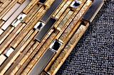 Tegels van het Mozaïek van het Glas van het kristal de Decoratieve