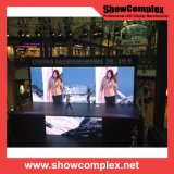 P3.9 HD 임대 영상 풀 컬러 실내 LED 스크린 전시