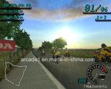Macchina a gettoni del gioco di corsa di automobile del motociclo di Simulater