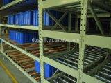 Fifo-Systems-Karton-Durchfluss-System-Schwerkraft-Walzen-Lager-Racking-System