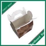 Impression personnalisée de boîtes en carton avec poignée