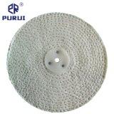 El sisal Buffing ruedas de pulido con la arandela de metal (sisal y paño de algodón)