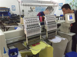 1000 машина вышивки иглы скорости 15 двойная головная для крышки одевает вышивку