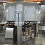Bebidas carbonatadas automáticas de la poder de aluminio que conservan la máquina de rellenar