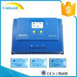 MPPT 30A 12V/24V 150VDC 1300Wの太陽料金のコントローラYs-30A/40A/50A