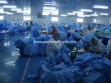 Поставщики Nonwoven ткани устранимые медицинские простерилизовали хирургическую мантию