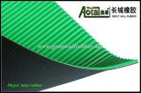Couvre-tapis en caoutchouc antistatique à nervures composé de feuille, nattes en caoutchouc antistatiques
