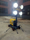 Torretta di illuminazione mobile Rplt1600 con la lampada Halide di metallo 4*400