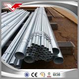 Ms del tubo de acero galvanizado acero galvanizado de acero galvanizado de cuerpos huecos precio por Kg.