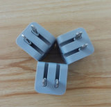 Adattatore piegante di potere del caricatore di corsa del USB della spina con 5V 1A