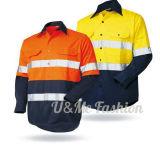 Куртка пальто отражательной работы одежды безопасности равномерная