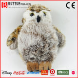 Cadeau promotionnel Peluche oiseau farci Animal Toy Soft Owl for Kids