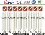 Alta calidad y buen moldeado del poliuretano de los moldeados de la cornisa de la PU del precio