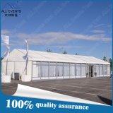 Tente d'usager d'événement avec le toit de PVC et le flanc transparent