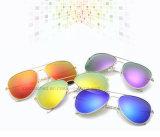 La coutume des lunettes de soleil Lunettes de soleil de mode de qualité Super