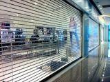 투명한 안전 PVC 연약한 커튼과 Windows 상업적인 석쇠 회전 셔터 문 (Hz TD026)
